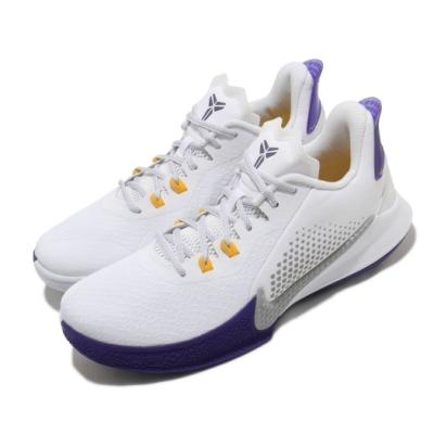 Nike 慢跑鞋 Mamba Fury 運動 男鞋 明星款 避震 包覆 XDR外底 球鞋 白 紫 CK2088101