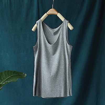 絲滑柔觸基礎百搭版吊帶背心無袖內搭衫上衣-設計所在