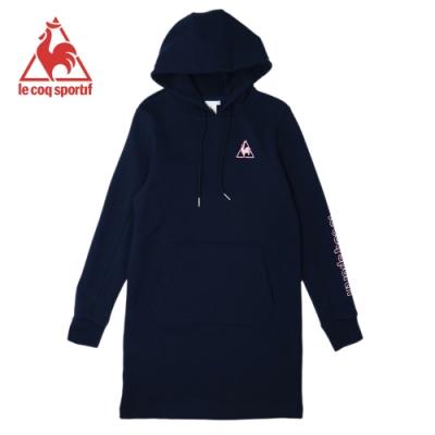 法國公雞牌連帽T恤 LOK2230139-女-藏青