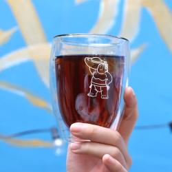 大金寶寶 玻璃隔熱雙層杯 經典款