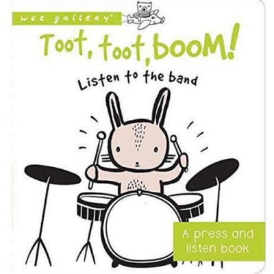 Toot, Toot, Boom! Listen To The Band 音效書