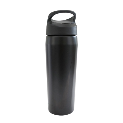 Nike 水壺 SS Twist Bottle 16oz 473ml 黑 銀 不鏽鋼保冷瓶 運動休閒 NOBG406816