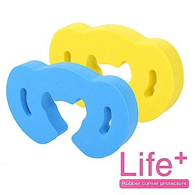 Life Plus 安全防護趣味造型門擋/門夾/門卡_2組4入(話筒)