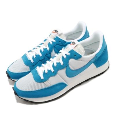 Nike 休閒鞋 Challenger OG 運動 男鞋 復古 舒適 簡約 麂皮 球鞋 穿搭 藍 白 CW7645001