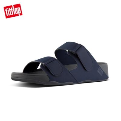 FitFlop GOGH MOC ADJUSTABLE SLIDE SANDALS IN NEOPRENE 可調整式涼鞋-男(午夜藍)