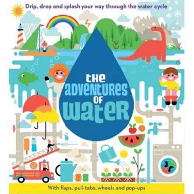 The Adventures Of Water 水滴的探險翻翻操作立體書