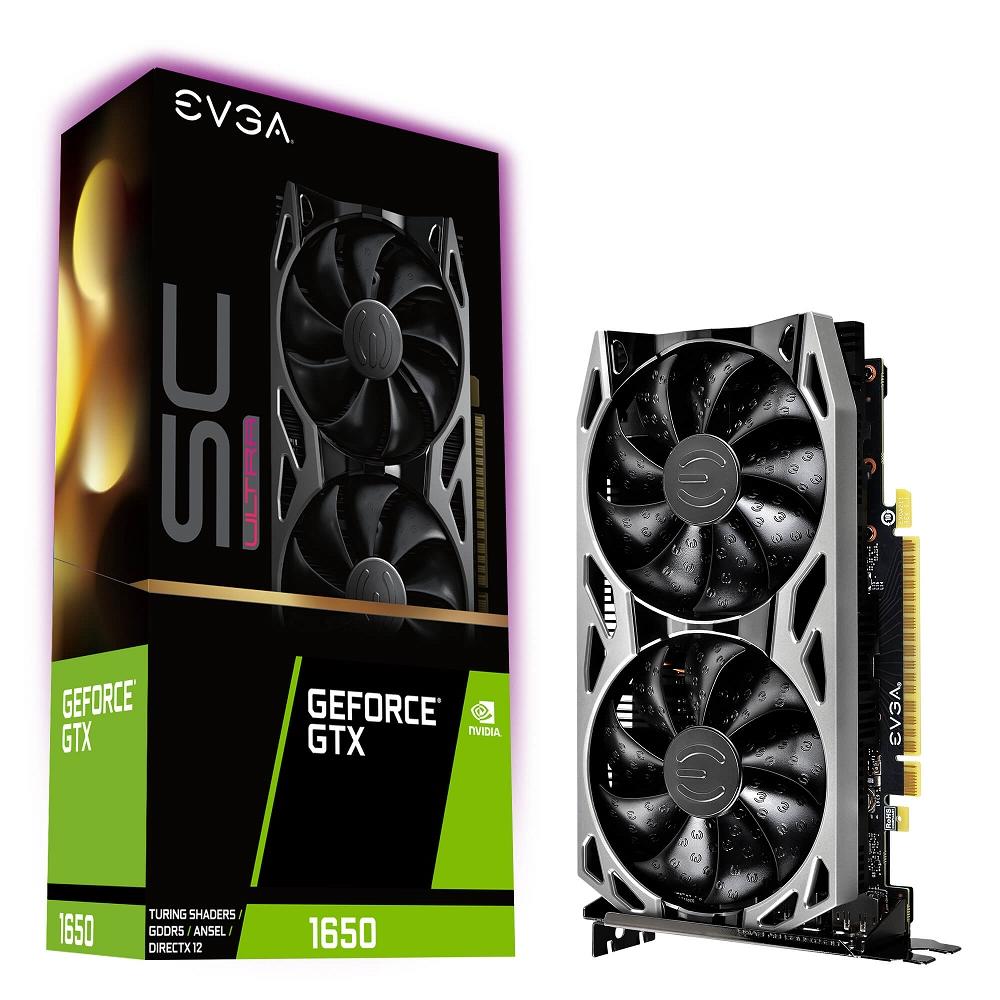 艾維克EVGA GTX 1650 SC ULTRA BP GAMING GDDR5 顯示卡