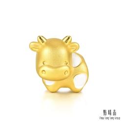 999純金 牛轉運勢 黃金串珠