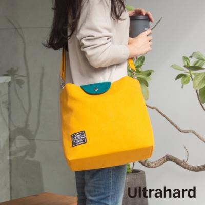 Ultrahard Masterpiece Map 袋蓋兩用托特包(黃綠)