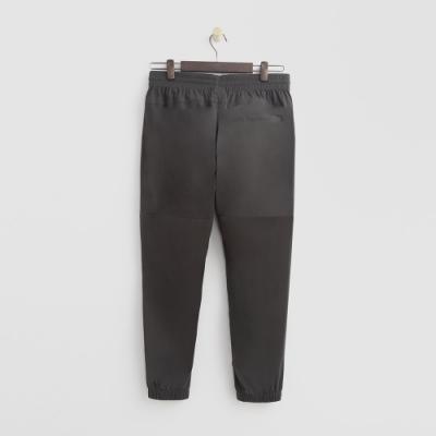 Hang Ten - 男裝 - ThermoContro-鬆緊運動束口褲 - 墨綠
