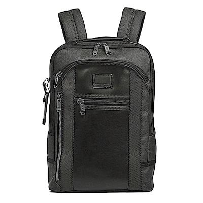 TUMI Davis系列電腦後背包-黑色適用15吋筆電