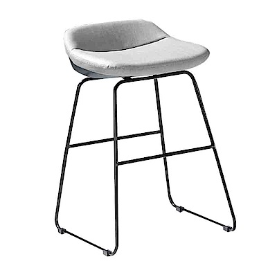 Bernice-荷娜造型吧台椅/高腳椅(矮)(二色可選)-40x32x63cm