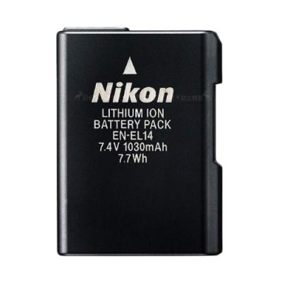 Nikon EN-EL14/ENEL14專用相機原廠電池 (全新密封包裝)