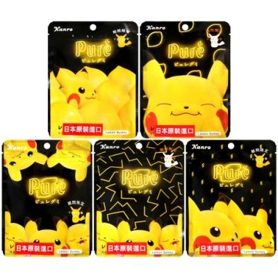 Kanro Pure黃色寵物造型軟糖-檸檬風味 (56g) (款式隨機出貨)
