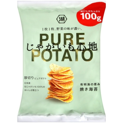 湖池屋 PURE POTATO海苔薯片(100g)