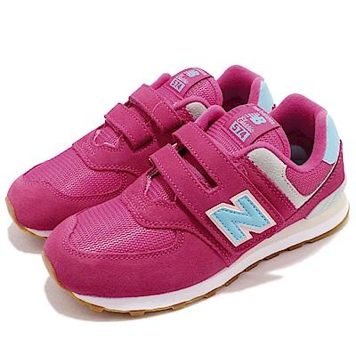 New Balance 慢跑鞋 YV574SCW 寬楦 童鞋