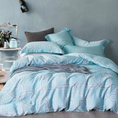 Ania Casa 相約地中海 天絲 100% TENCEL 雙人鋪棉兩用被套床包四件組