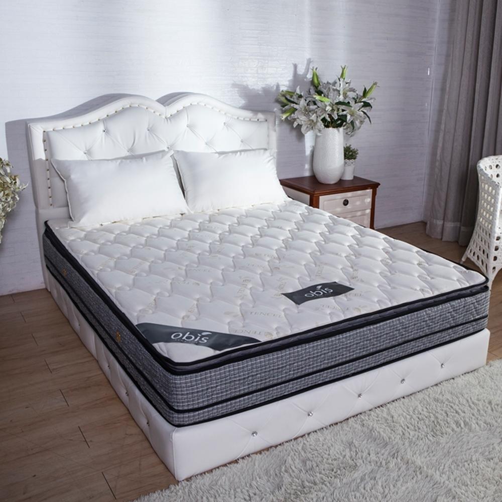 obis Cherish呵護頂級護邊系列-Genie四線護邊雙人加大6尺蜂巢獨立筒床墊