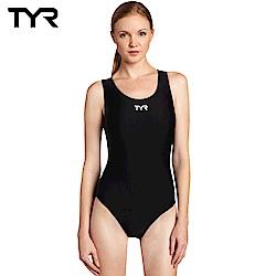 美國TYR 女用連身三角黑色泳裝 Solid Female MaxFit