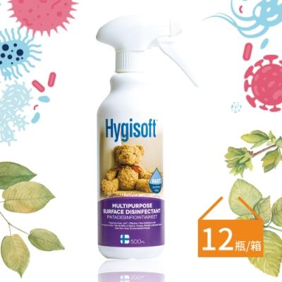 芬蘭Hygisoft 科威多用途表面殺菌消毒噴霧500ml*12瓶