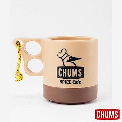 CHUMS -SPICE Cafe 聯名款馬克杯 米/咖啡 (250ml)