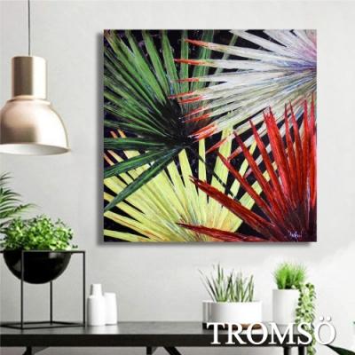 TROMSO百勝藝術立體抽象油畫-W415