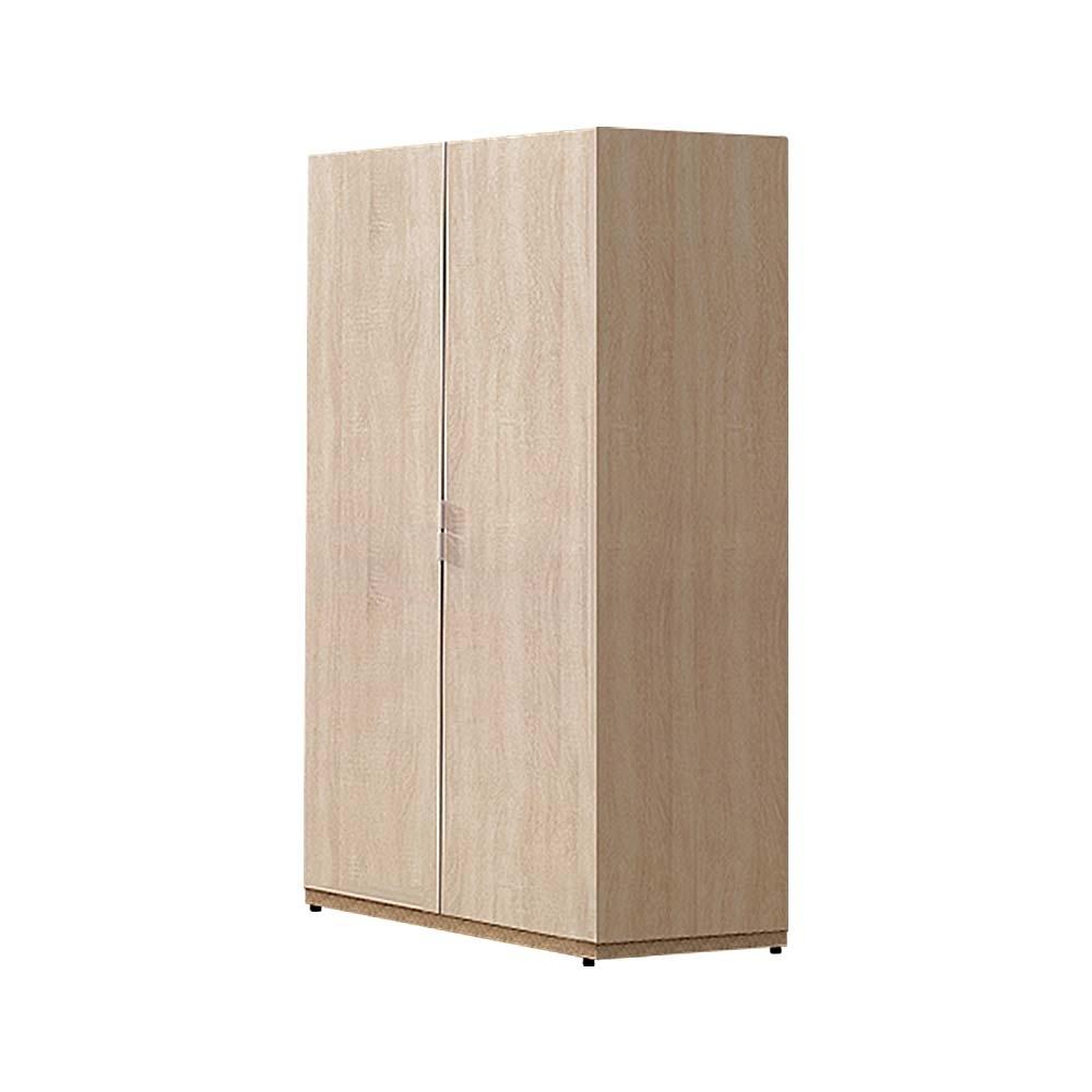 柏蒂家居-瑞莎2.5尺雙門雙吊桿衣櫃-75x60x197cm
