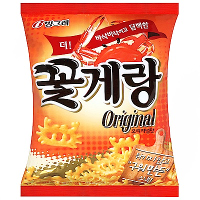 BINGGRAE 螃蟹造型餅乾(70g)