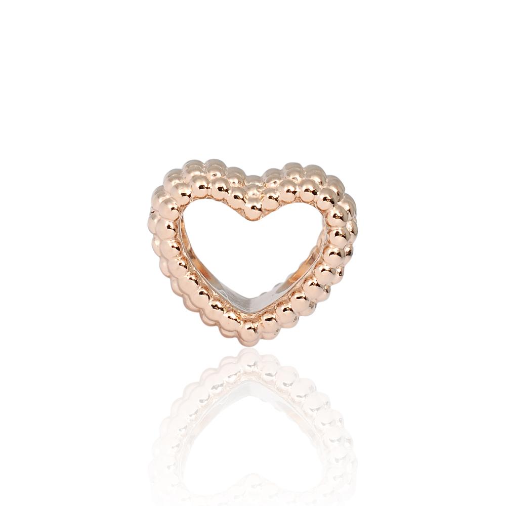 Pandora 潘朵拉 魅力玫瑰金泡泡愛心 純銀墜飾 串珠