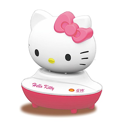 GW x Hello Kitty 水玻璃分離式除濕機Single組( 1 機+ 1 座)
