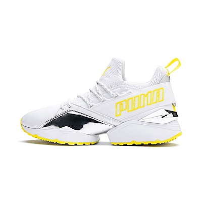 PUMA-Muse Maia TZ Metallic Wn s女性休閒鞋-白