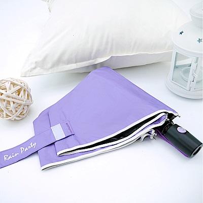 好傘王 不透光黑膠輕大自動傘2.0版-紫色