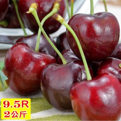 愛蜜果 智利櫻桃禮盒2KG (9.5R/XJ/SJD)