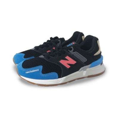 New Balance 運動鞋 中童 復古鞋 休閒  童鞋 黑 藍 PH997JHZW