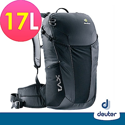 【deuter德國】 X-Venture XV1 17L多功能城市休旅背包3850018黑