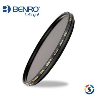 BENRO百諾 82mm 可調式減光鏡 SHD IR-CUT NDX-HD LIMIT ULCA WMC