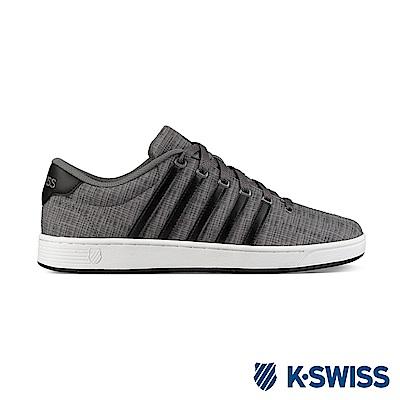 K-Swiss Court Pro II T CMF休閒運動鞋-男-灰/黑