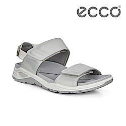 ECCO X-TRINSIC. 簡約單色戶外運動涼鞋 女-白