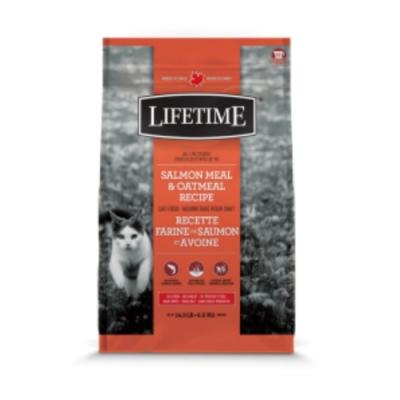加拿大LIFETIME萊馥特-腸胃保健配方 (鮭魚+燕麥) 全齡貓 5LB/2.27KG (LTC7805)