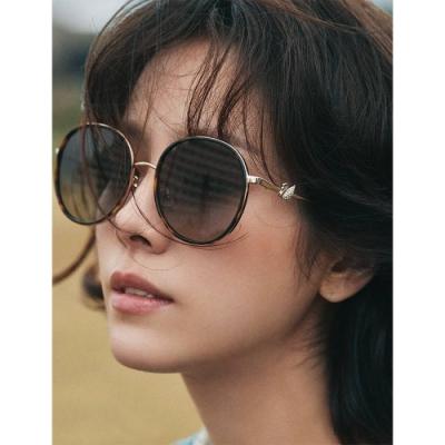 SWAROVSKI 廣告款 水鑽 太陽眼鏡(琥珀色)SK252K