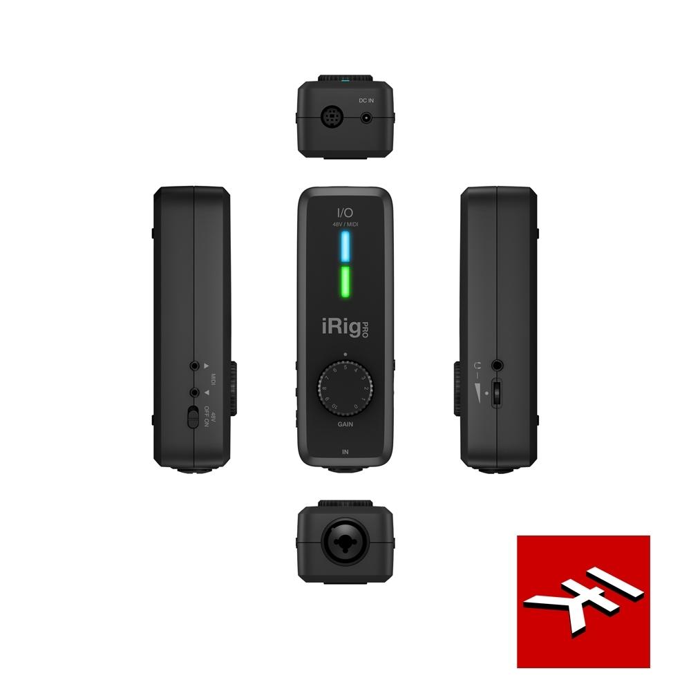 IK Multimedia iRig PRO I/O錄音介面/隨插即用全新口袋型