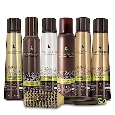 [時時樂限定] Macadamia Professional瑪卡奇蹟油 洗髮/潤髮 (多款任選)