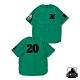 XLARGE BASEBALL SHIRT刺繡棒球襯衫-綠 product thumbnail 1