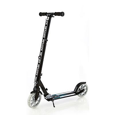 【德國KETTLER】Zero 8 時尚親子滑板車-酷炫黑