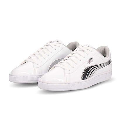 Puma 休閒鞋 Basket Mirror 女鞋