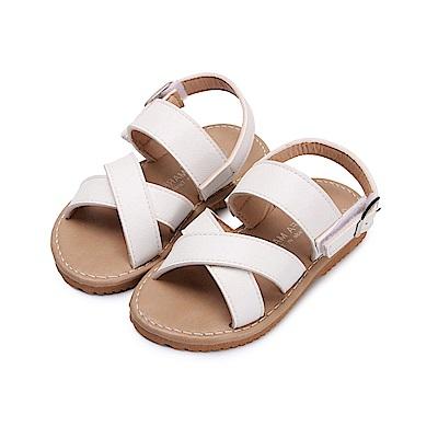 BuyGlasses 簡約夏日兒童涼鞋-白