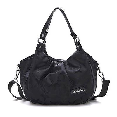B.S.D.S冰山袋鼠-香巧班尼x托特購物造型手提側背兩用包-魔力黑