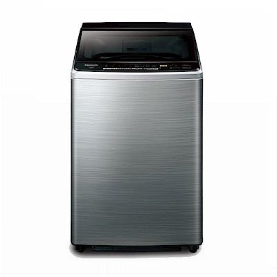 Panasonic國際牌 11KG 直立式變頻洗衣機 NA-V110EBS-S 不鏽鋼