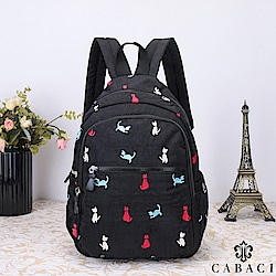 CABACI 淘氣小貓繡線後背包