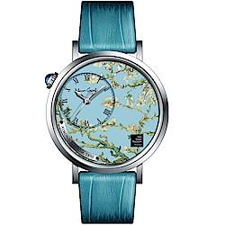 梵谷Van Gogh Swiss Watch梵谷演繹名畫男錶(S-SMA-10)